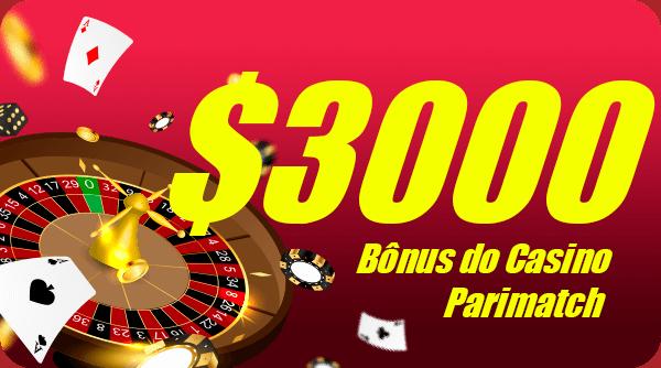 Bônus do Casino Parimatch para novo jogador