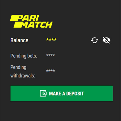 Como depositar no Parimatch Brasil?